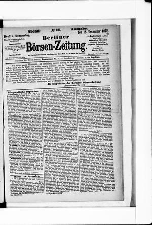 Berliner Börsen-Zeitung vom 18.12.1873