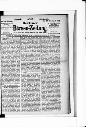 Berliner Börsen-Zeitung vom 29.12.1873