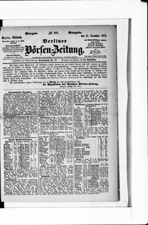 Berliner Börsen-Zeitung vom 31.12.1873