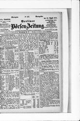 Berliner Börsenzeitung (22.08.1874)