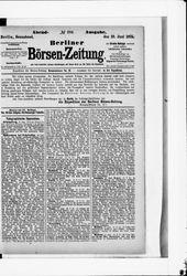 Berliner Börsenzeitung (19.06.1875)