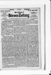 Berliner Börsenzeitung (19.08.1875)