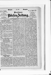 Berliner Börsenzeitung (22.08.1875)