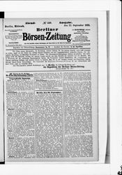 Berliner Börsenzeitung (22.09.1875)