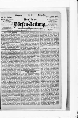 Berliner Börsen-Zeitung vom 04.01.1876