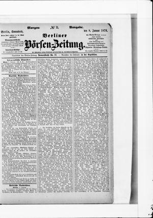 Berliner Börsen-Zeitung vom 08.01.1876