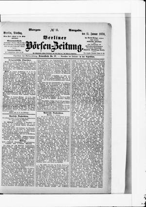 Berliner Börsen-Zeitung vom 11.01.1876