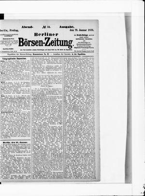 Berliner Börsen-Zeitung vom 21.01.1876