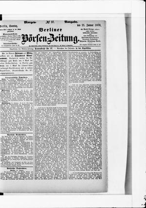Berliner Börsen-Zeitung vom 23.01.1876