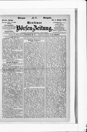 Berliner Börsen-Zeitung vom 03.02.1876