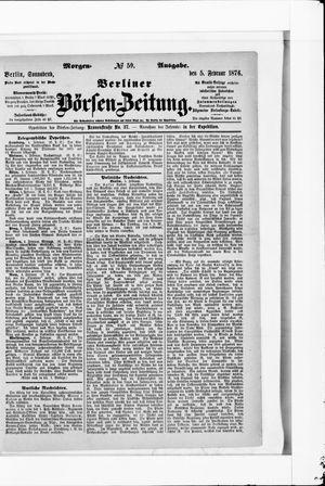 Berliner Börsen-Zeitung vom 05.02.1876