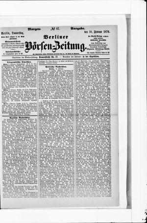 Berliner Börsen-Zeitung vom 10.02.1876