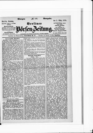 Berliner Börsen-Zeitung vom 05.03.1876