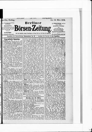 Berliner Börsen-Zeitung vom 10.03.1876