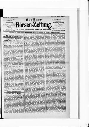 Berliner Börsen-Zeitung vom 11.03.1876