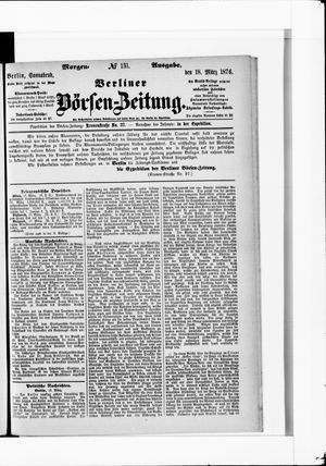 Berliner Börsen-Zeitung vom 18.03.1876