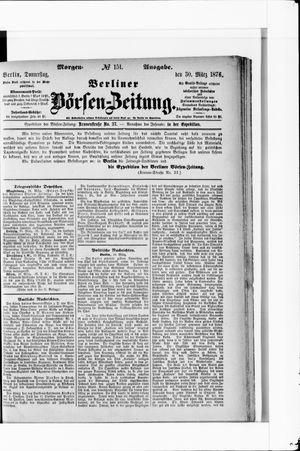 Berliner Börsen-Zeitung vom 30.03.1876