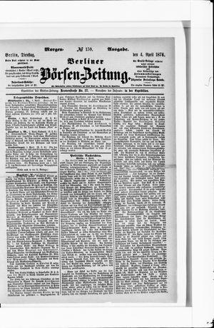 Berliner Börsen-Zeitung vom 04.04.1876