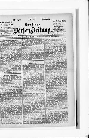Berliner Börsen-Zeitung vom 03.06.1876