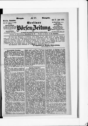 Berliner Börsen-Zeitung vom 17.06.1876