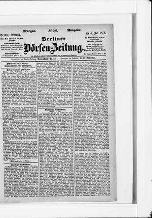Berliner Börsen-Zeitung vom 05.07.1876