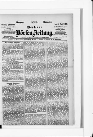 Berliner Börsen-Zeitung vom 08.07.1876