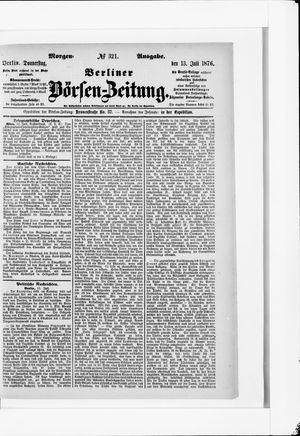 Berliner Börsen-Zeitung on Jul 13, 1876