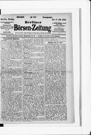 Berliner Börsen-Zeitung vom 17.07.1876