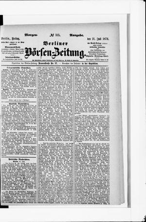 Berliner Börsen-Zeitung vom 21.07.1876