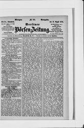 Berliner Börsenzeitung (19.08.1876)