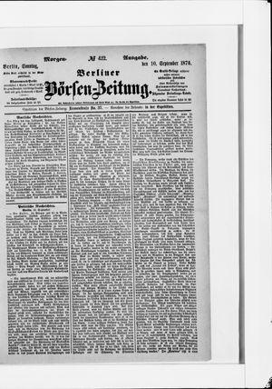 Berliner Börsen-Zeitung vom 10.09.1876