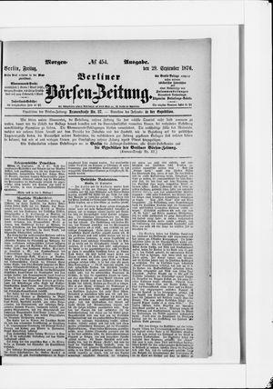 Berliner Börsen-Zeitung vom 29.09.1876