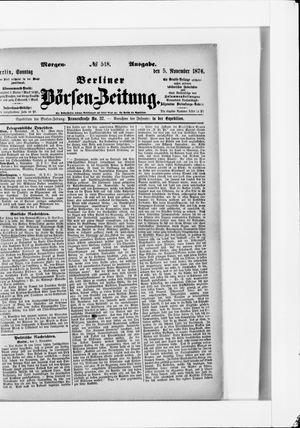 Berliner Börsen-Zeitung on Nov 5, 1876