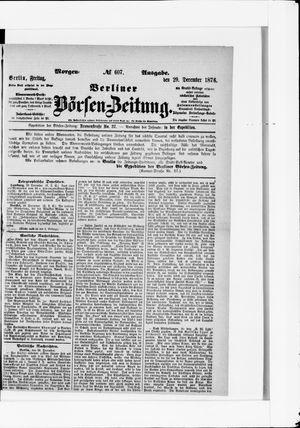 Berliner Börsen-Zeitung vom 29.12.1876