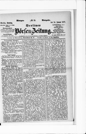 Berliner Börsen-Zeitung vom 14.01.1877