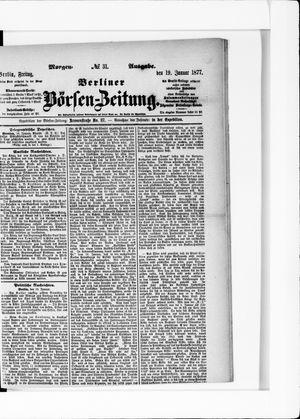 Berliner Börsen-Zeitung vom 19.01.1877