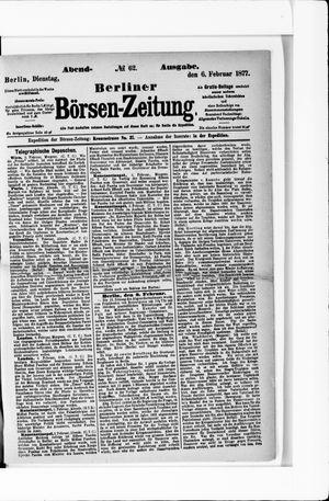 Berliner Börsen-Zeitung vom 06.02.1877