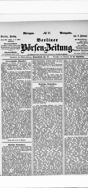 Berliner Börsen-Zeitung vom 09.02.1877