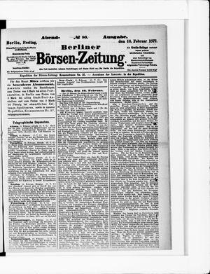Berliner Börsen-Zeitung vom 16.02.1877