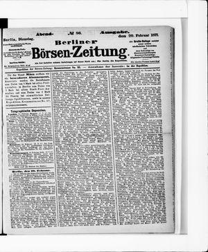 Berliner Börsen-Zeitung vom 20.02.1877