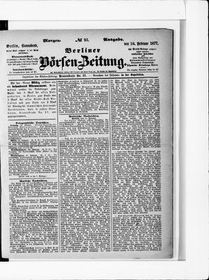 Berliner Börsen-Zeitung vom 24.02.1877