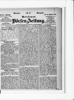 Berliner Börsen-Zeitung vom 28.02.1877