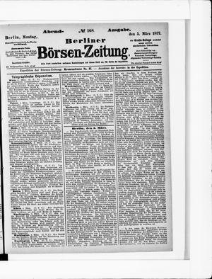 Berliner Börsen-Zeitung vom 05.03.1877