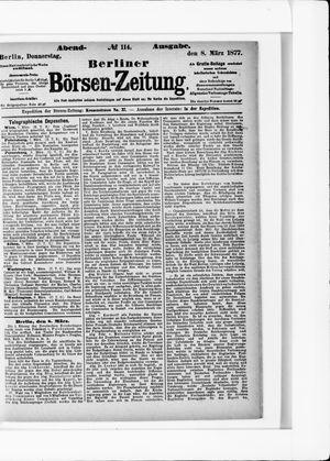 Berliner Börsen-Zeitung vom 08.03.1877