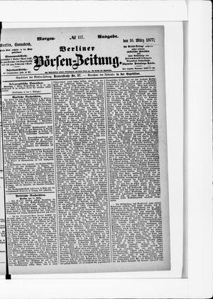 Berliner Börsen-Zeitung vom 10.03.1877