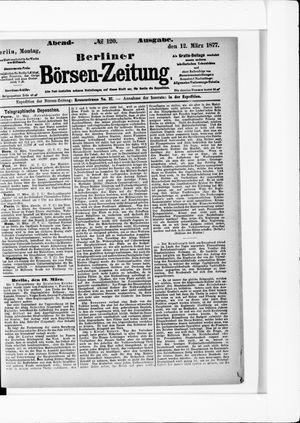 Berliner Börsen-Zeitung vom 12.03.1877