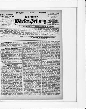 Berliner Börsen-Zeitung on Mar 22, 1877