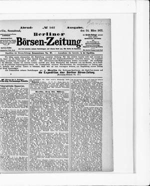 Berliner Börsen-Zeitung vom 24.03.1877