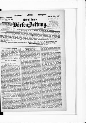 Berliner Börsen-Zeitung vom 29.03.1877