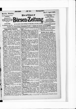 Berliner Börsen-Zeitung vom 03.04.1877